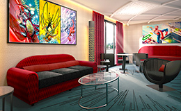 Hotel New York - The Art of Marvel